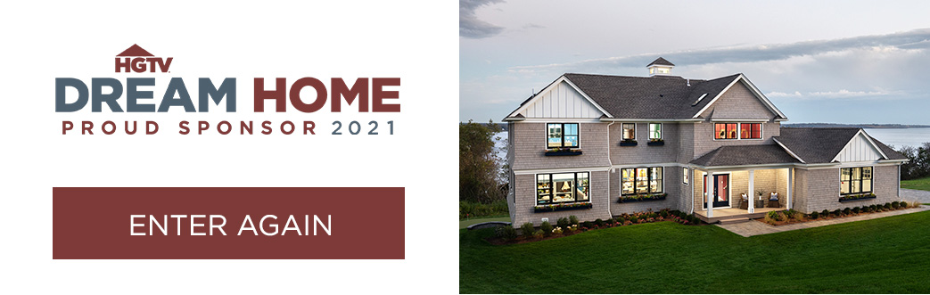HGTV Dream Home Proud Sponsor 2021 - Enter Again