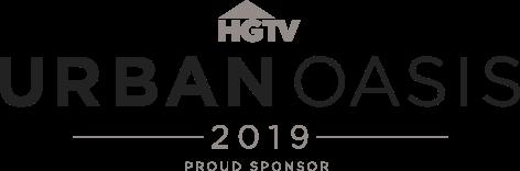 HGTV Urban Oasis 2019 Proud Sponsor